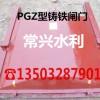 PGZ型铸铁闸门
