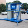 信义鼎SJL0.1-10 移动升降平台双轨柱铝合金升降货梯 升降6/8/10/12升降机 欢迎选购 价格优惠