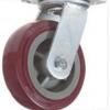 双轴聚氨酯轮 工业白尼龙轮 塑芯聚氨酯轮 铁芯橡胶轮 万向轮