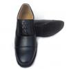 配发真皮三接头皮鞋包邮套脚系带07b正装校尉士官鞋商务皮鞋现货