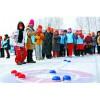 四季冰蹴球民族体育项目冰雪活动