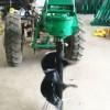 安徽栽树挖坑机电杆挖坑机视频