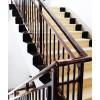 固格澜栅 直发山东曲阜锌钢楼梯扶手 室外仿木楼梯扶手