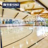 篮球室内场馆专用运动木地板防滑枫木运动地板厂家直销