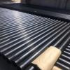 莱芜轩驰公司热浸塑钢管厂家山东周边黑色承插式热浸塑钢管报价规格型号