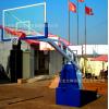 弹簧篮球架 移动篮球架 弹簧升降移动篮球架 轻松升降 操作方便