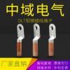 DLT铜铝鼻子 铝铜接线端子 铝铜线耳国标线鼻子 铝端头接铜电缆 中域电气