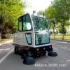 小区工厂环卫物业户外清洁全封闭扫地车电动驾驶式扫路道路清扫车
