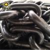 热处理C级25锰钒链条40T刮板机配件齐全 矿用刮板机圆环链型号齐全 自动焊接高强度链条