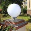 厂家直销 户外柱头灯围墙灯门柱灯大门灯亚克力球形罩LED防水