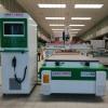 双工位直排换刀开料机 自动推料 柜体开料机 板式家具开料机 一台顶两台 工作效率高