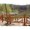 水泥仿木栏杆多少钱一米?仿木护栏安装施工预算报价格