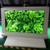 东莞惠华厂家直销49寸三角形透明液晶触摸展示柜