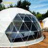 栖星野奢吉林住宿球 户外星空球形帐篷酒店