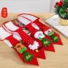 圣诞节领带领结 个性卡通雪人圣诞老人圣诞鹿 多彩领带配饰