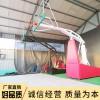 弹簧篮球架 标准户外成人电动液压篮球架 定制篮球架移动篮球架