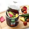 厂家直销圆形纸筒果蔬干包装易拉盖纸罐定制