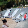 重庆不锈钢滑梯与儿童塑料滑梯