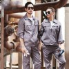 焦作工作服厂家-定做长袖全棉工作服-耐磨长袖工装-车间厂服劳保服汽修服
