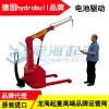 2吨hydrobull电动带底盘液压吊车,可定制底盘宽度