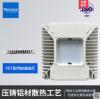 sinozoc兆昌LED嵌入式面板暗装方形天棚灯100W大功率加油站灯150W