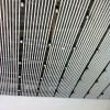 高铁站定制150x30白色铝条板 U型铝方通吊顶