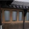 唐臻 仿古铝合金建筑古镇街道园林别墅栏杆茶壶档美人靠 复古门窗