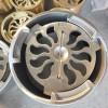 供应建筑人防防爆地漏(水封50mm) 全铜防暴地漏专业制造生产