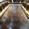 茶楼环氧复古地坪漆 别墅仿古做旧地面 专卖店欧美风格地坪装饰 艺术做旧涂料安装 室内滚涂复古漆
