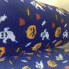 万圣节系列搞怪南瓜图案水刺无纺布 儿童口罩用布
