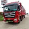 二手欧曼前四后八载货车430马力欧曼牌出售2年整