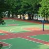 篮球场地坪漆篮球场面层材料 篮球场地面涂料 水性丙烯酸油漆施工
