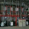 日产40吨高方平筛钢构设备