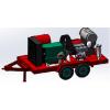 山东青岛1400公斤进口泵管道疏通高压清洗机搅拌车铸件设备