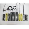 M12总线I/O分线盒8端口16点 直出线PNP型,NPN型