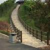 水泥仿木护栏混凝土栏杆河道景观护栏